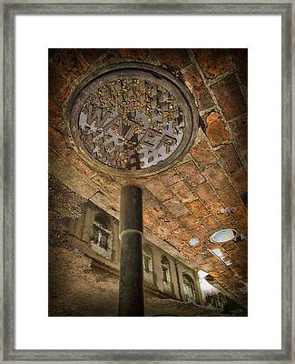 Under The Bridge Framed Print by Russell Styles
