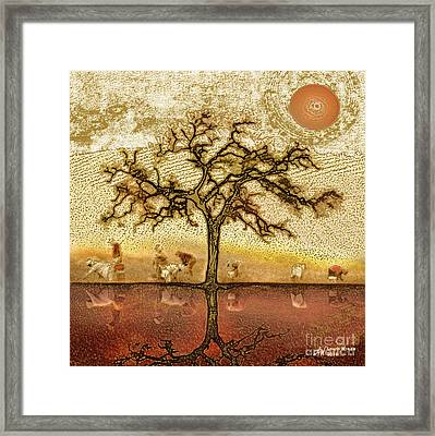 Under The California Sun Framed Print by Artist and Photographer Laura Wrede