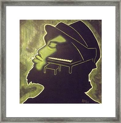 Under The Influence Framed Print by Clyde Stallworth Jr