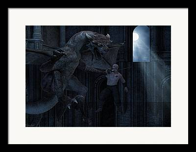 Dungeons And Dragons Framed Prints
