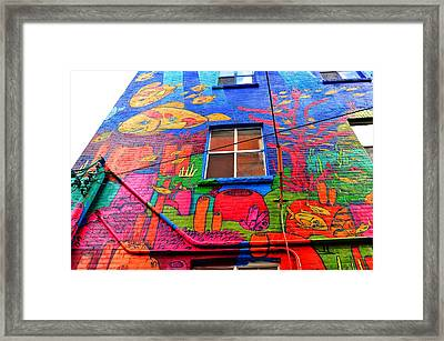 Under The Sea  Framed Print by Puzzles Shum