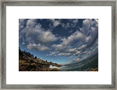 Under The Sky Framed Print by Rick Berk