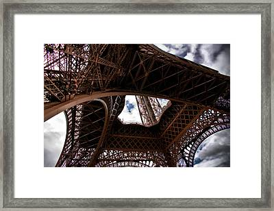 Framed Print featuring the photograph Under The Tower by Edward Myers