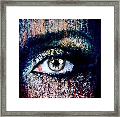Under Framed Print by Yosi Cupano