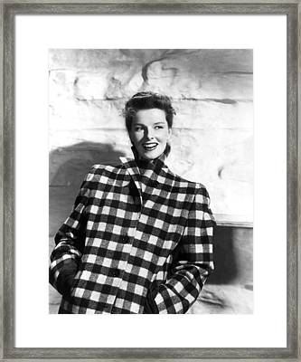 Undercurrent, Katharine Hepburn, 1946 Framed Print by Everett