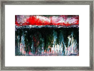 Underground - Art By Laura Gomez Framed Print by Laura  Gomez