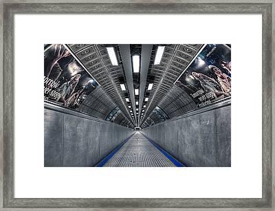 Underground 04 Framed Print by Svetlana Sewell