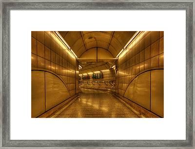 Underground 05 Framed Print