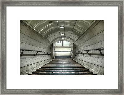 Underground 06 Framed Print