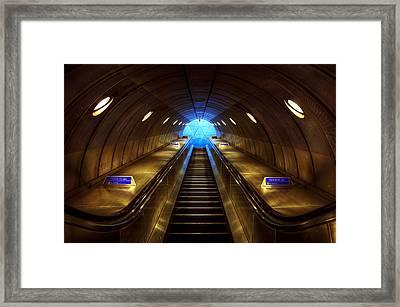 Underground 08 Framed Print