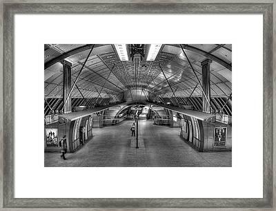 Underground 09 Framed Print
