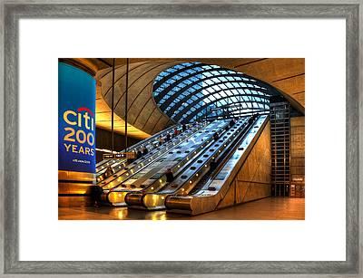 Underground 12 Framed Print by Svetlana Sewell