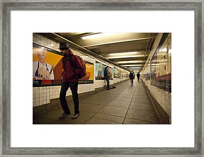 Underground Framed Print by Art Ferrier
