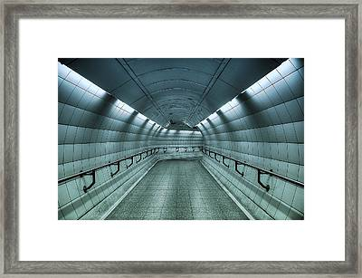 Underground Blues Framed Print