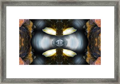 Underground Contact Framed Print
