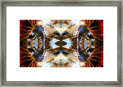 Framed Print featuring the photograph Underground Heaven by Sandro Rossi