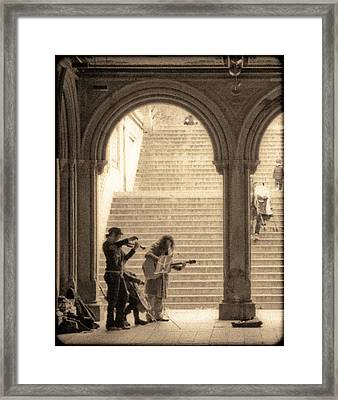 Underground Music Framed Print