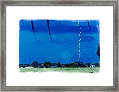 Framed Print featuring the photograph Underneath- My Fears by Janie Johnson