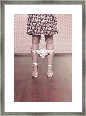 Underpants Framed Print