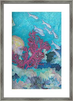 Underwater Splendor I Framed Print by Denise Hoag