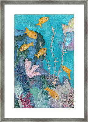 Underwater Splendor II Framed Print by Denise Hoag