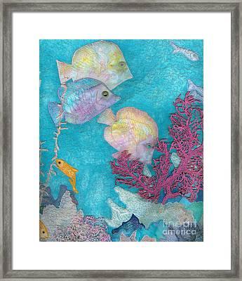 Underwater Splendor IIi Framed Print by Denise Hoag