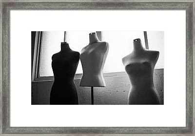 Undressed Models Framed Print