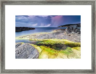 Unexpected Storm Framed Print by Evgeni Dinev