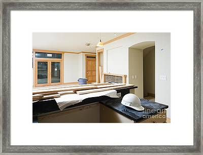 Unfinished Home Interior Framed Print by Andersen Ross