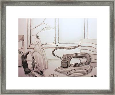 Unfortunate Accident Framed Print by Raul Martinez