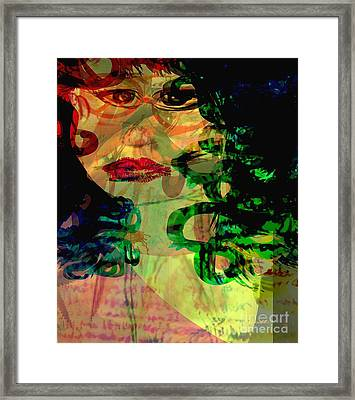 Unfrozen Memories Framed Print by Fania Simon