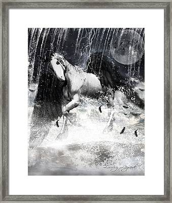 Unicorn's Complexities Framed Print by Lourry Legarde