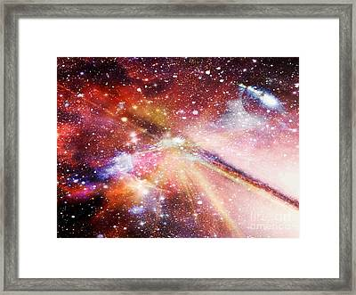 Unidentified Planet Framed Print by Fania Simon