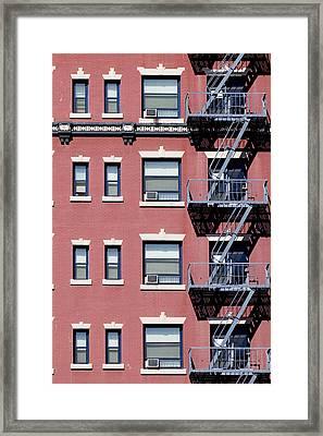 Uniformity Framed Print