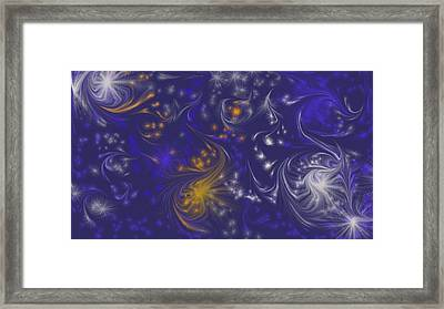 Unimultiversus Framed Print by Rosana Ortiz