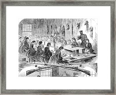 Union Arsenal, 1861 Framed Print by Granger