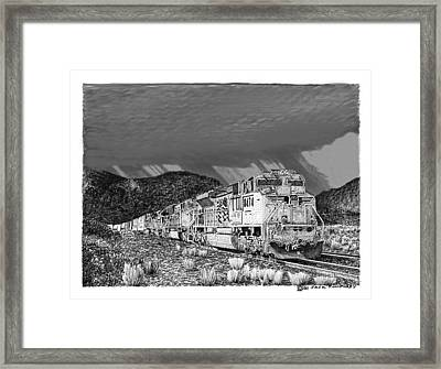 Racing The Monsoon Framed Print by Jack Pumphrey