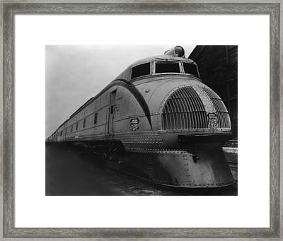 Union Pacific Loco Framed Print by Welgos