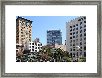 Union Square San Francisco Framed Print