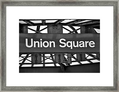 Union Square  Framed Print by Susan Candelario