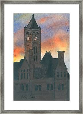 Union Station Framed Print by Arthur Barnes