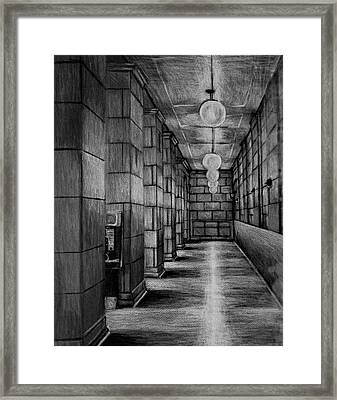 Union Station Framed Print by Mike N