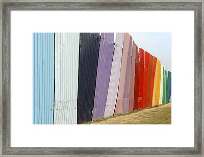 United Colors Of India Framed Print by Kantilal Patel