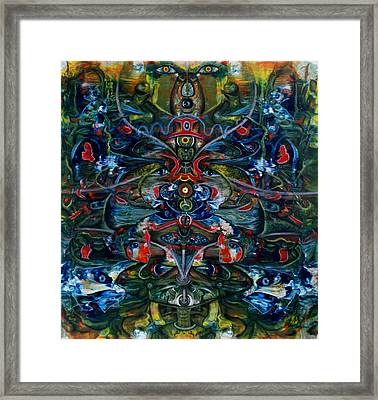 Unity And Duality Framed Print