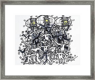 Unity Framed Print by Robert Wolverton Jr