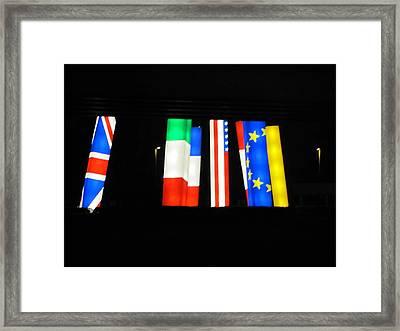 Unity Framed Print by Shawn Hughes