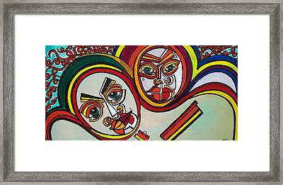 Unity Framed Print by Valerie Wolf