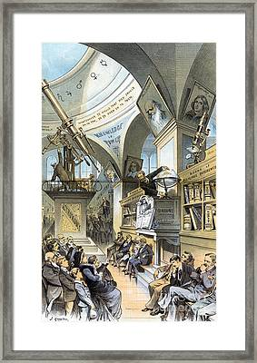 Universal Church Of The Future, 1883 Framed Print by Science Source