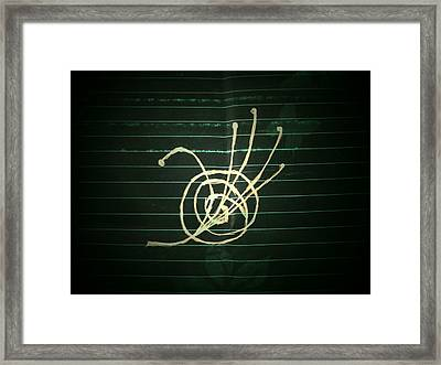 Universal Domination Framed Print by Coin Iruebenebe