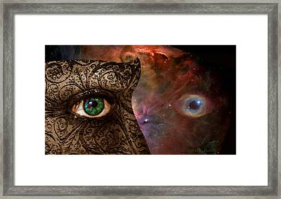 Universal Eyes Framed Print